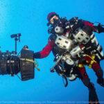 Taucher im Mittelmeer. (Quelle: SRF Schweizer Radio und Fernsehen, Zweigniederlassung der Schweizerischen Radio- und Fernsehgesellschaft)