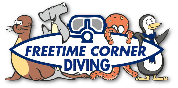 Logo - Freetime Corner Diving