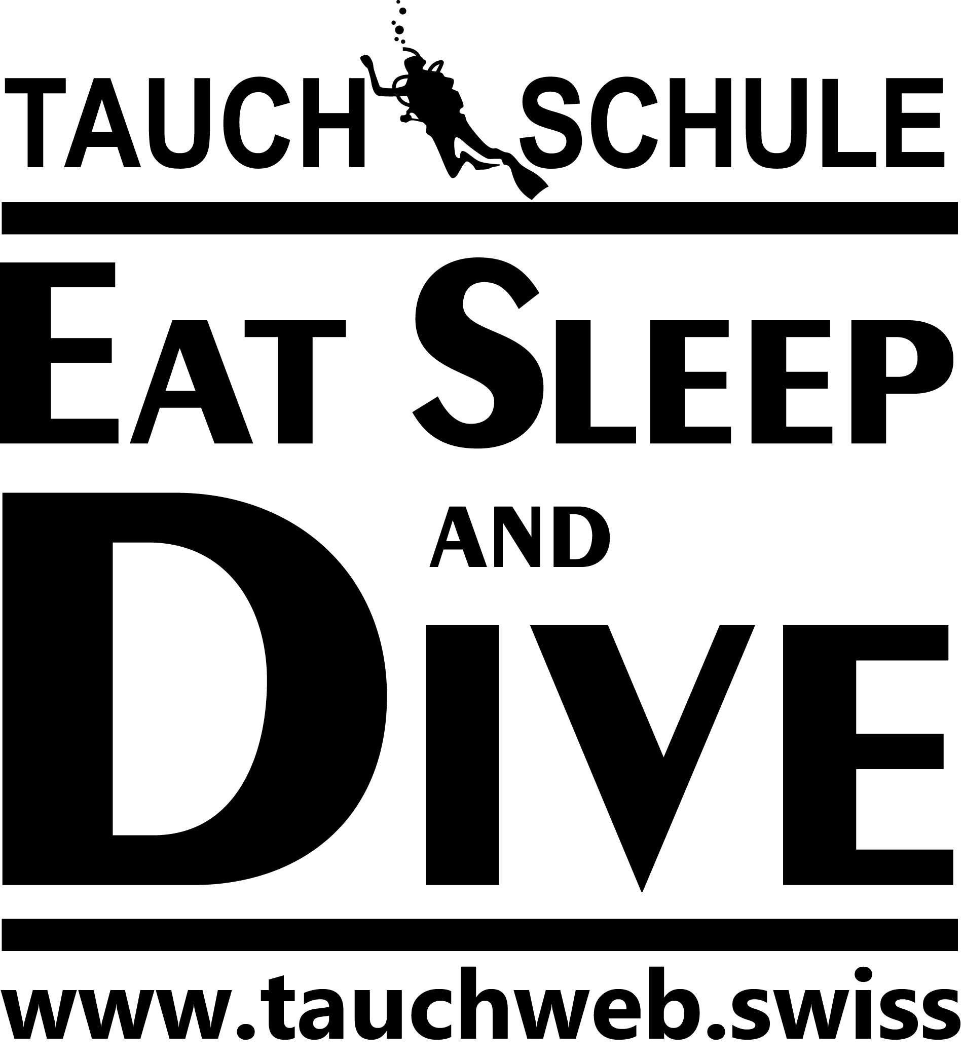 Logo - Eat Sleep and Dive